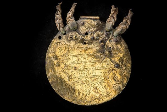 Plaque muletière, 18e siècle