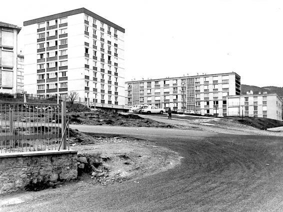 Construction des HLM du Val-Vert, Le Puy-en-Velay