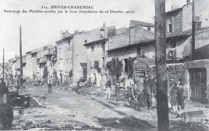 Inondation de 1907, Brives-Charensac