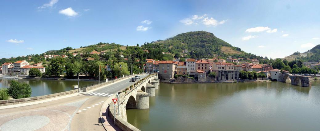 Le pont Galard, Brives-Charensac