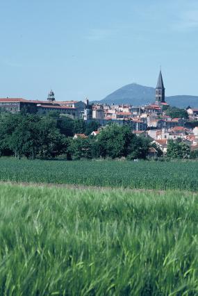 La Limagne, Riom et la chaîne des Puys