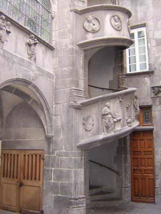 Cour de l'hôtel Guymoneau
