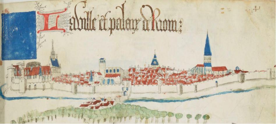 Vue de Guillaume Revel, 1450