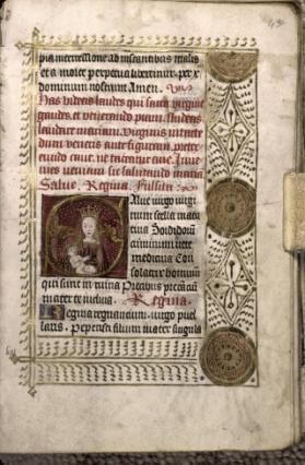 Heures à l'usage de Sarum, manuscrit enluminé
