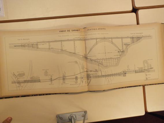 Plan de l'ingénieur Léon Boyer