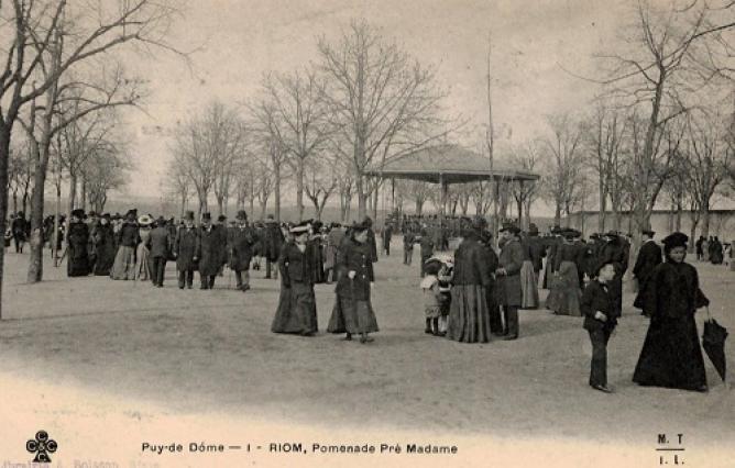 Promenade du Pré Madame, Riom