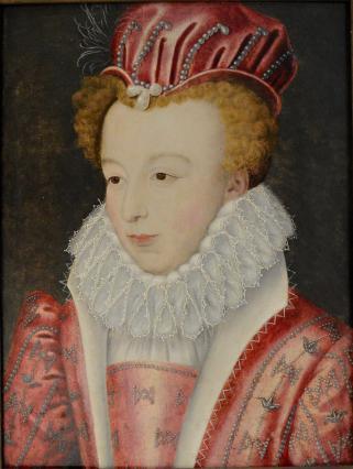 Portrait de Marguerite de Valois - vers 1572
