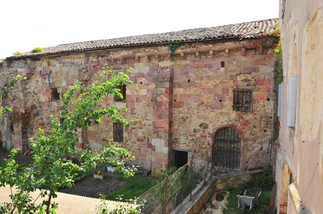 Salle capitulaire et l'ancien dortoir du monastère