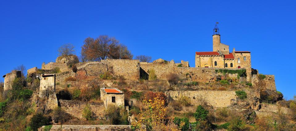 Site fortifié du Marchidial à Champeix