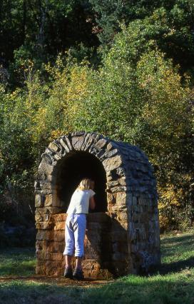 Source de la Colline près d'Ardes - site naturel Ardés