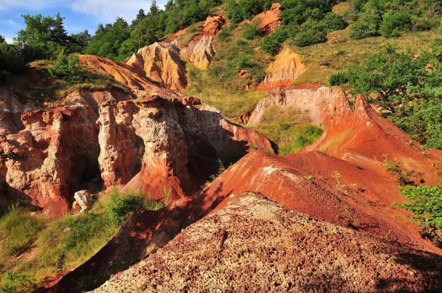 Vallée des Saints à Boudes, espace naturel sensible