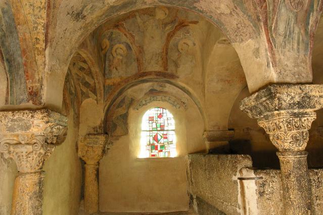 Intérieur de la chapelle Saint-Michel d'Aiguilhe