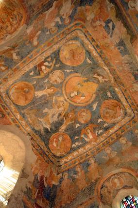 Peintures murales du chœur de la chapelle Saint-Michel d'Aiguilhe