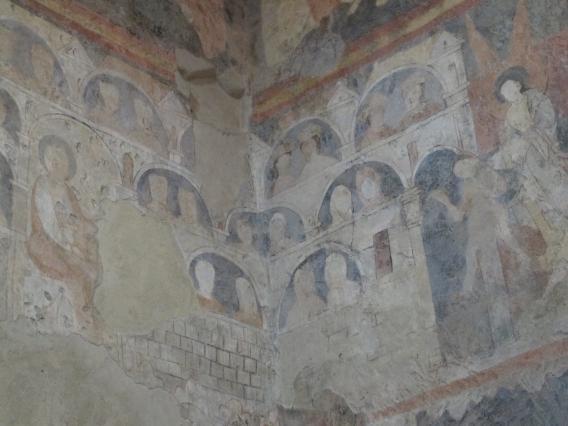 Peintures murales de la chapelle Saint-Michel d'Aiguilhe, la Jérusalem céleste