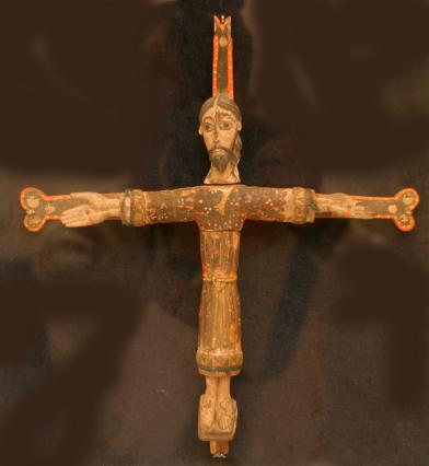 Trésor de la chapelle Saint-Michel d'Aiguilhe, Christ reliquaire