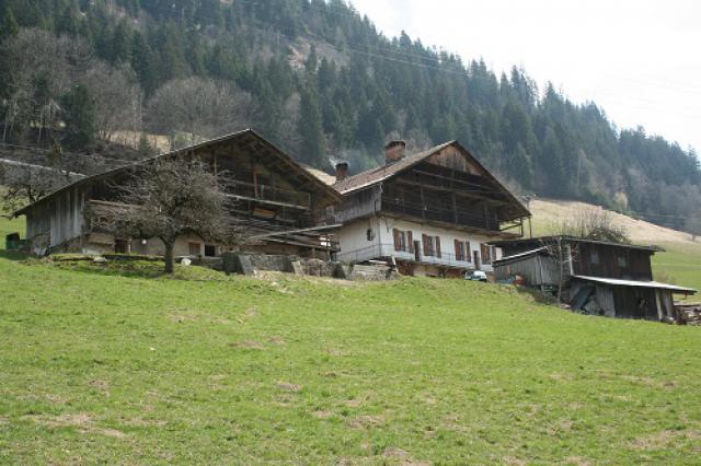 Beaufort, maisons bois