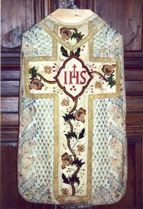 Chasuble de la collection d'art sacré