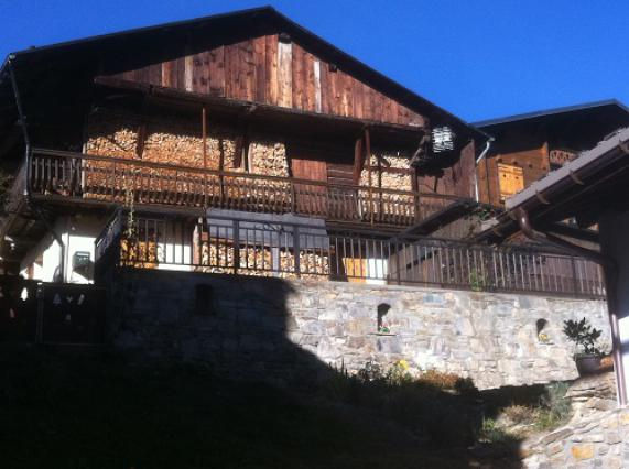 Hauteluce, maisons bois