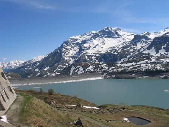 Mont-Cenis, barrage depuis la pyramide