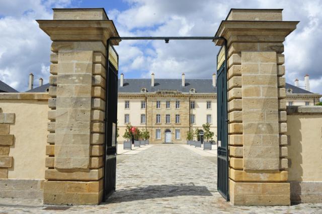 Porte d'entrée monumentale