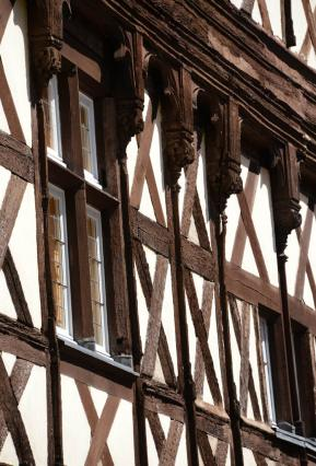 Façade de la maison Thierry de Clèves, détail