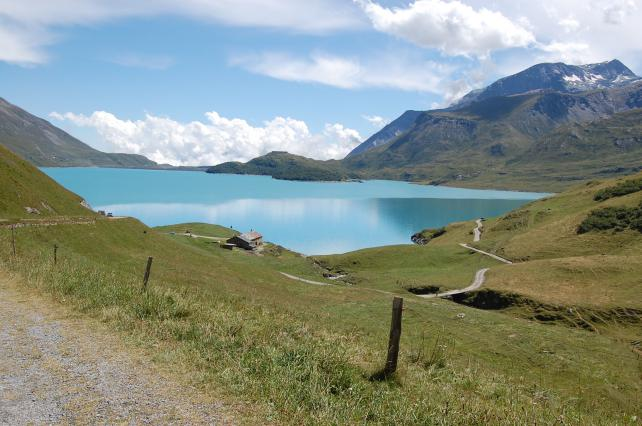 Villarodin Barrage Mont Cenis