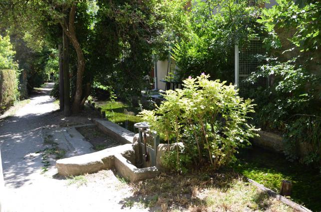 Canal des Malcontents. Vanne hydraulique