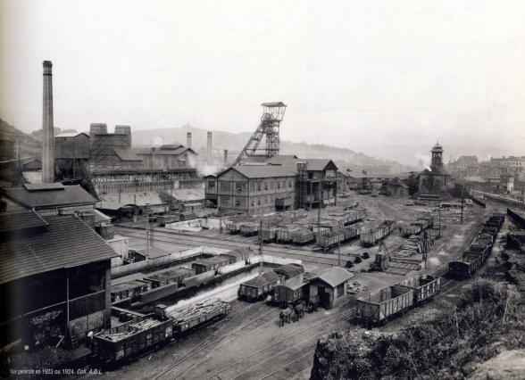 Le site Couriot en 1923