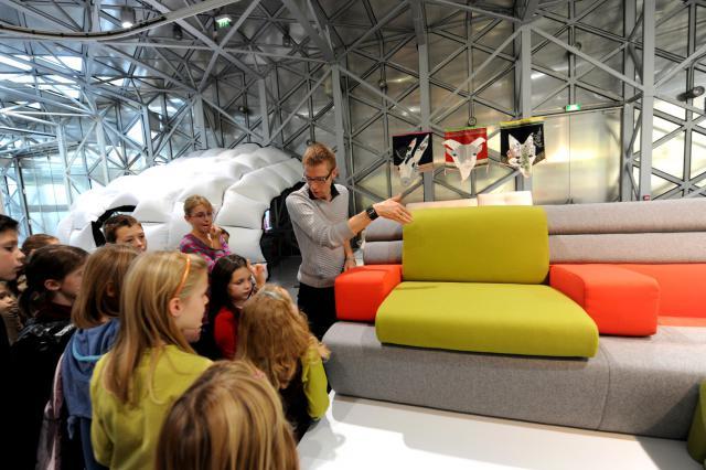 Exposition à la Cité du design