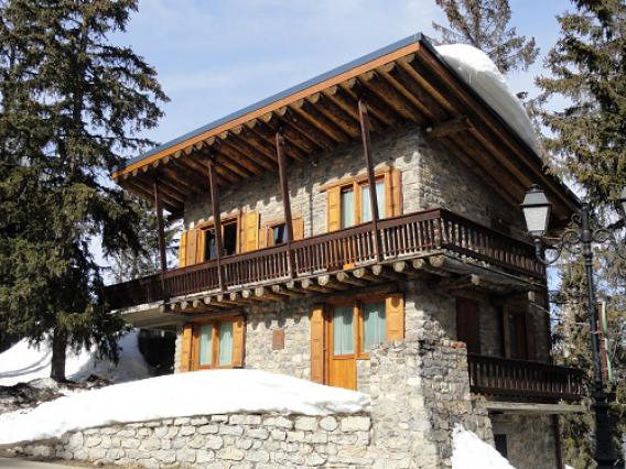 Courchevel, chalet Joliot-Curie