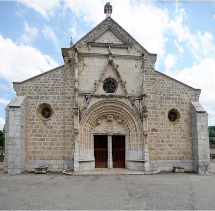 L' église de Saint-Geoire-en-Valdaine