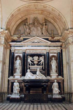 Mausolée du duc Henri II de Montmorency, détail