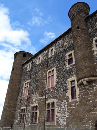 Logis Renaissance du château de Bouzols, Arsac-en-Velay