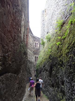 Enceintes du château de Bouzols, Arsac-en-Velay