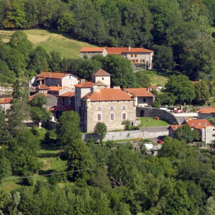 Château de la Tour Daniel, Coubon
