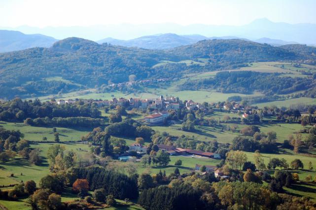 Vue aérienne sur Jean-des-Ollières