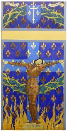 Jeanne d'Arc, Guillonet, musée Mandet, Riom