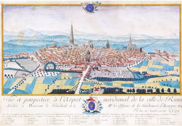 Le tour de ville riom villes et pays d 39 art et d for Piscine riom