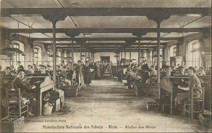 Ateliers vers 1900