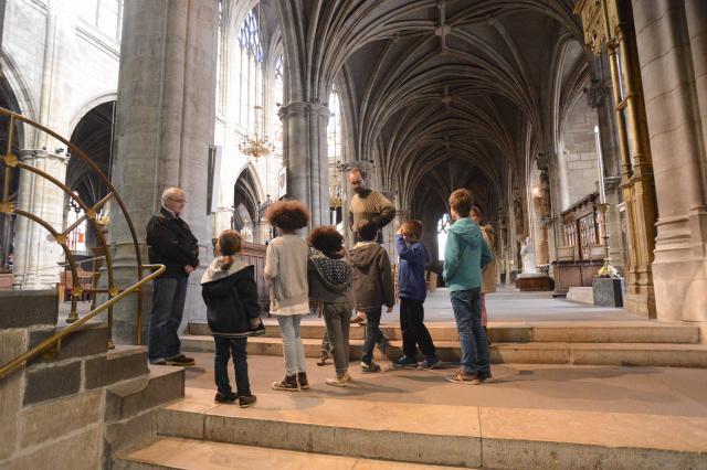 Atelier du patrimoine, cathédrale Notre Dame