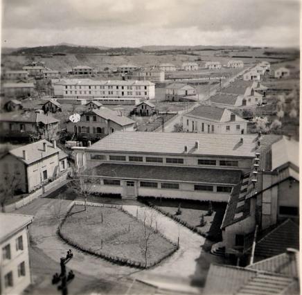 Chambre chaude et cité de Bayard - image d'archives