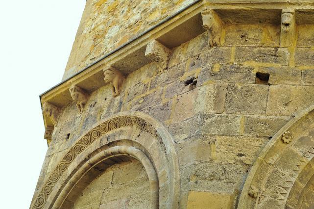 Église de Mailhat - Décor du chevet