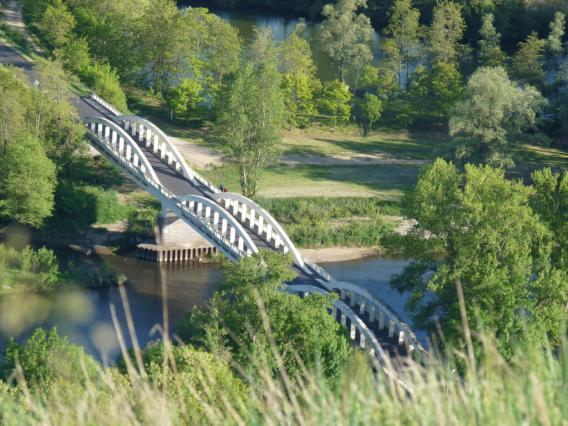 Trois arches du pont Pakowski