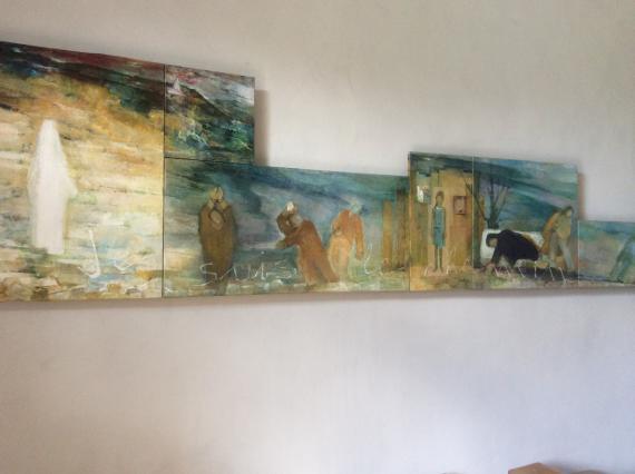 Peintures côté Nord