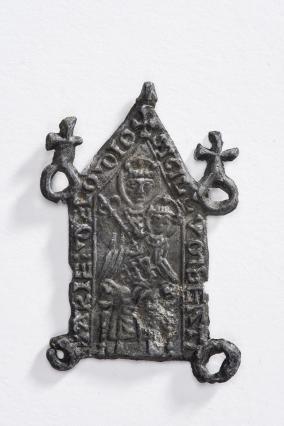 Enseigne de pèlerinage à l'effigie de la Vierge