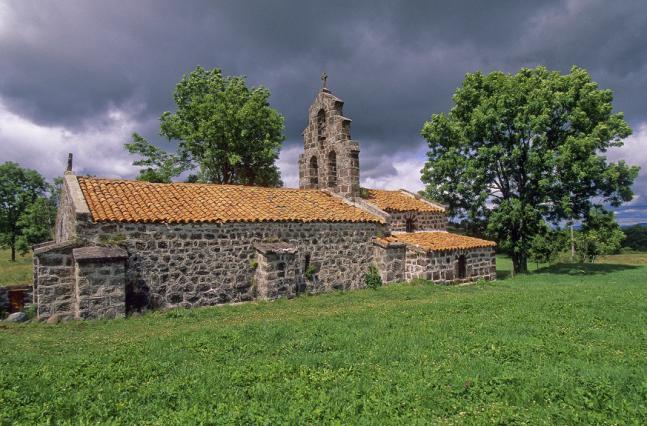 Chapelle de Montbonnet, Bains, chemin de Saint-Jacques-de-Compostelle