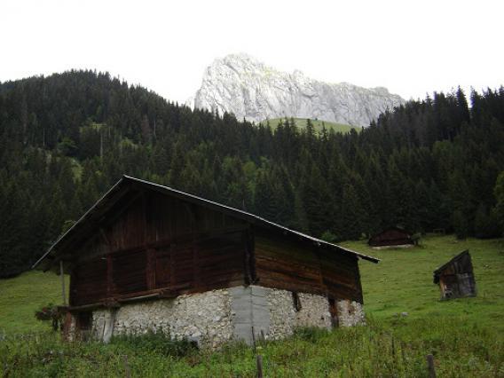 Chevenne, Chalet d'alpage