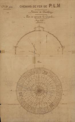 Plan de la Rotonde