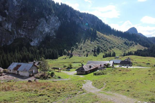 Hameau d'alpage d'Ubine