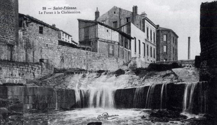 Le Furan à la Chaléassière au début du 20e siècle
